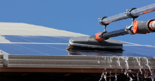 Photovoltaik Reinigung