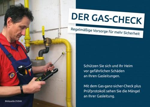 Firmenprofil von: Der Gas-Check - Regelmäßige Vorsorge für mehr Sicherheit