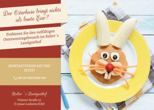Firmenprofil von: Ach du dickes Ei! Osterbrunch im Balter's Landgasthof genießen