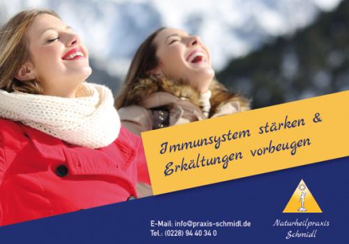 Firmenprofil von: Immunsystem stärken & Erkältungen vorbeugen - Naturheilpraxis Schmidl