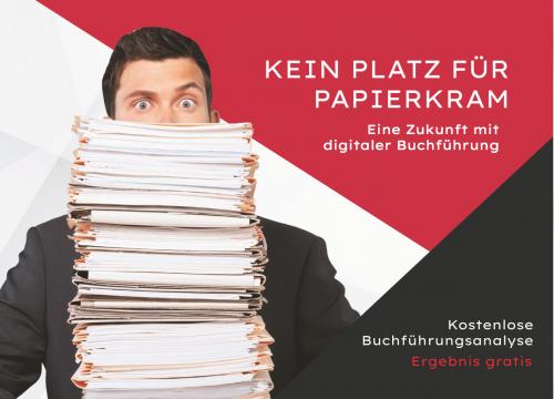 Firmenprofil von: Kein Platz für Papierkram - Eine Zukunft mit digitaler Buchführung