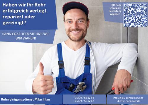 Firmenprofil von: Bewerten Sie den Rohrreinigungsdienst Mike Ihlau