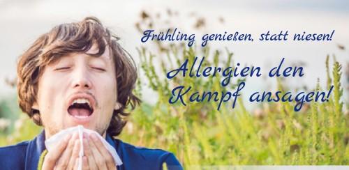 Firmenprofil von: Frühling genießen, statt niesen!  Allergien den Kampf ansagen